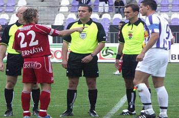المجري الشاب ميهالي يقود مباراة وادي دجلة والأهلي