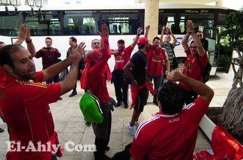 رسالة تونس (4): علامات النصر والثقة في الفوز عنوان جمهور الأهلي
