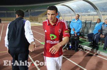 أوسة يحرض لاعبي انبي على عبد الظاهر بعد هدفه القاتل