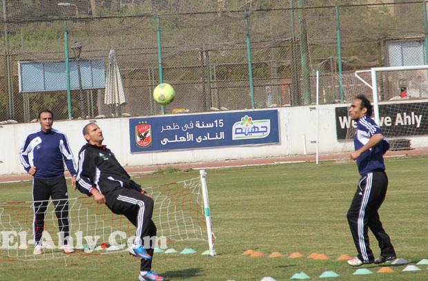 عبد الحفيظ VS علي ماهر في استعراض الكرة الطائرة