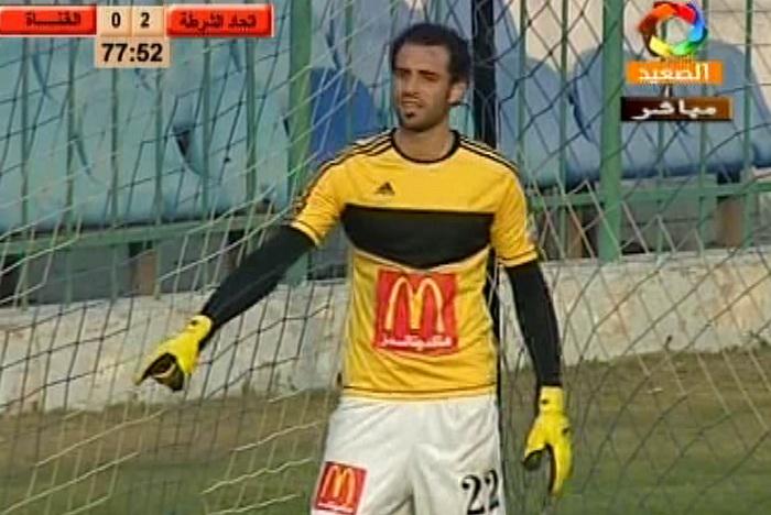 محمود أبو السعود يظهر مع القناة وينقذ ضربة جزاء وهدفين