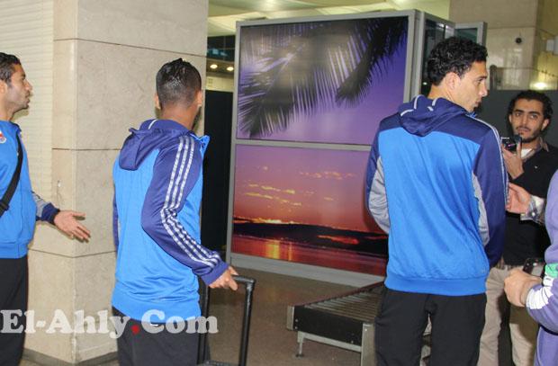 رسالة تونس: يوسف يجتمع باللاعبين ومشاهدة مباراة لأهلي بني غازي بالدوري