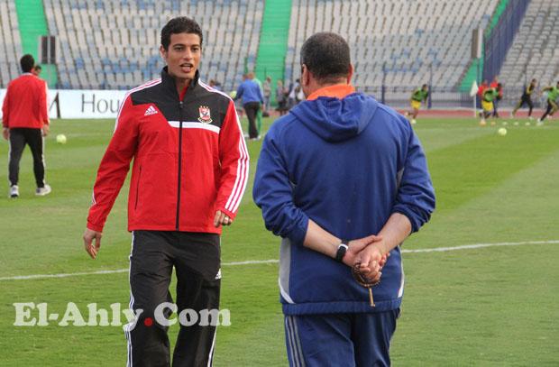 أحمد خيري يظهر لأول مرة في مباريات الأهلي