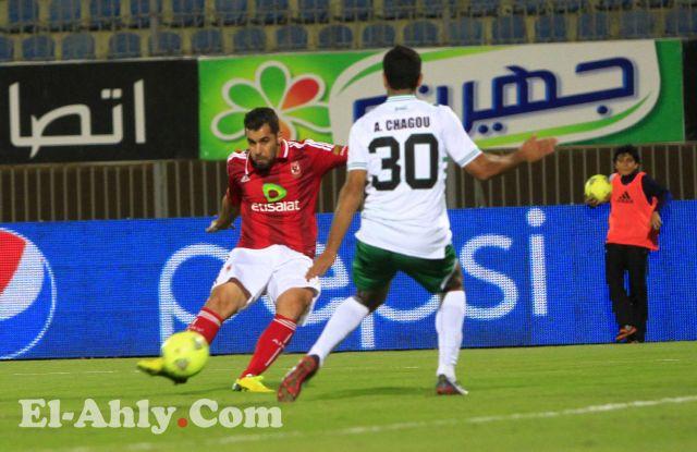 الاهلى يتغلب على الدفاع المغربى بهدف يتيم لعبد الله السعيد