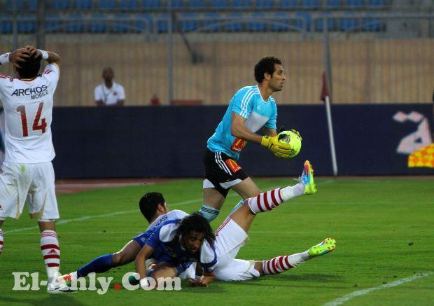 محمود ابو السعود ينقذ فريق القناة من الهزيمة بسبعة اهداف