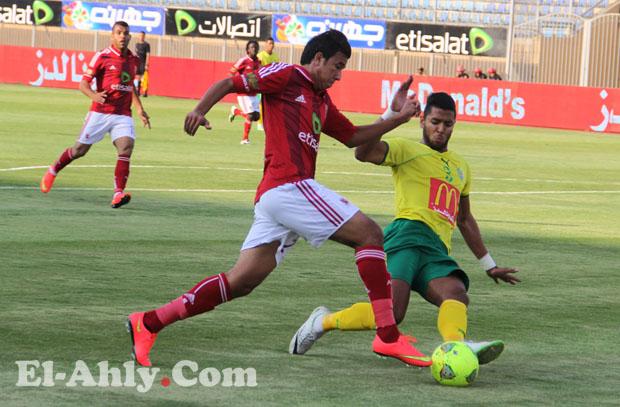 السيد حمدي يقود الأهلي للفوز على الجونة والتأهل للدورة الرباعية