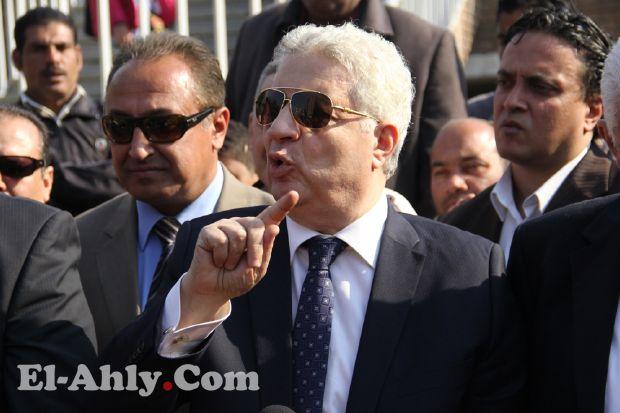 رئيس الزمالك: لا اريد إسلام رشدي حتى ولو بواب وتوأمة تبادل مجانية مع الدراويش