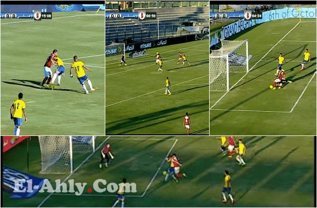 شاهد 6 أهداف ضائعة في ملخص مباراة الأهلي والإسماعيلي