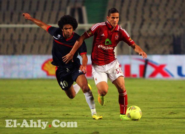 رمضان صبحي رجل مباراة الاهلى والنصر ومتعب يحل فى المركز الثانى