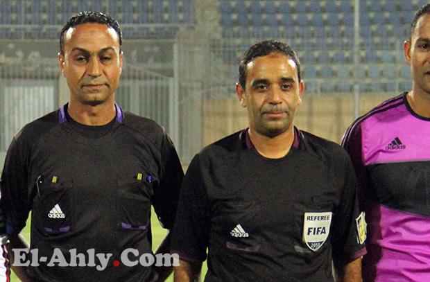 سمير عثمان يحكم مباراة الأهلي والإتحاد السكندري