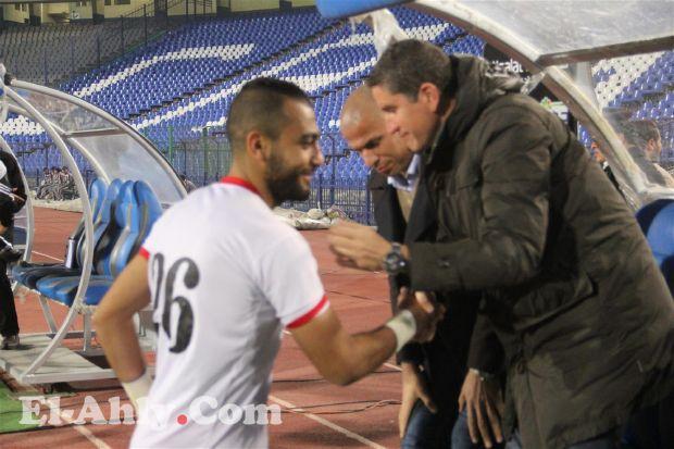 شاهد شهاب أحمد يظهر لأول مرة ضد الأهلي
