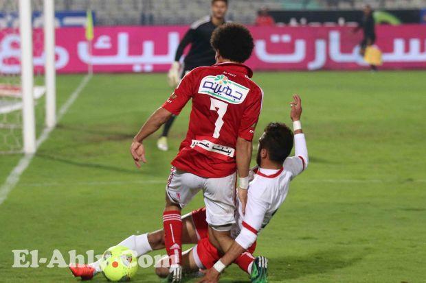 تعرف على المباريات التى يغيب عنها حسين السيد
