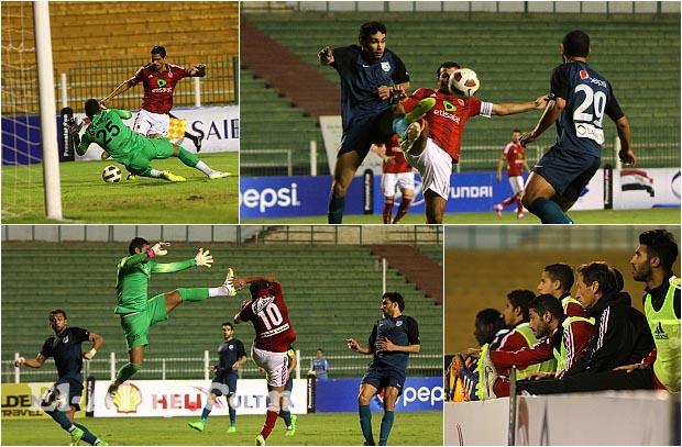 شاهد صور هزيمة الأهلي الثالثة في الدوري
