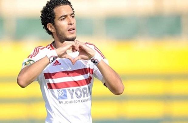 عمر جابر ينتظم في مران الزمالك وإنتهاء الأزمة