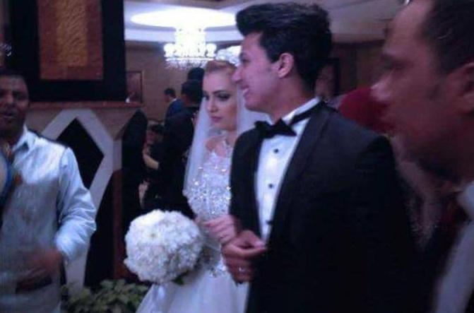محمود طاهر يحضر حفل زفاف عمرو جمال