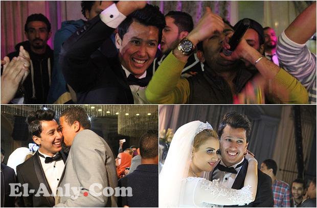شاهد حفل زفاف عمرو جمال مهاجم الأهلي