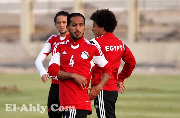 وليد سليمان يغادر معسكر المنتخب المصري للإصابة