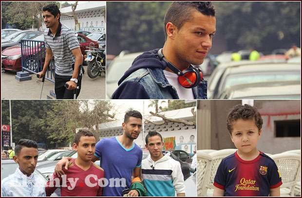 """شاهد آدم عبد الله السعيد """"البرشلوني"""" في كواليس مران الأهلي"""
