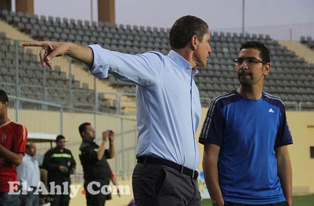 جاريدو يطرد حسين السيد من مران الفريق