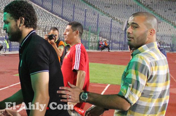 """متعب: لن أقبل أن أخسر مكاني في الفريق عشان واحد """"مزاجه كدة""""!"""