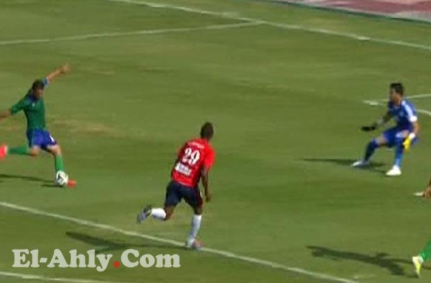 السيد حمدي يحرز هدفه الثامن بالدوري المصري