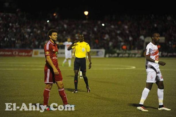 وليد سليمان يضيع هدف بعد ثواني من نزوله
