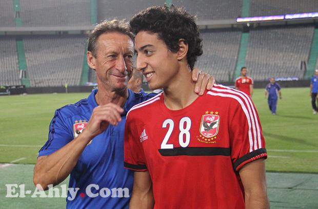 """محمد هاني """"رجل"""" مباراة الأهلي والمغرب التطواني"""