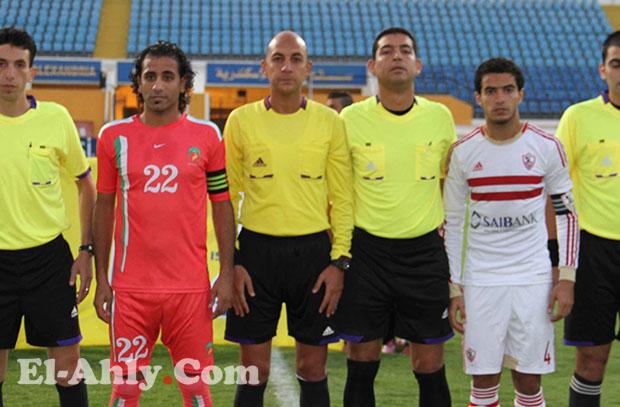 محمد عادل يقود مباراة الأهلي والنصر