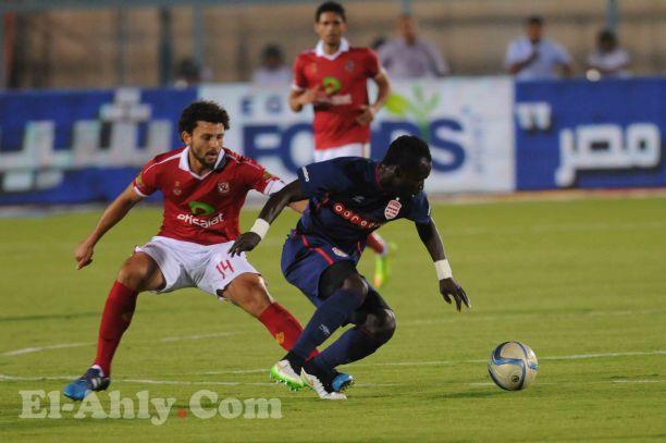 عماد متعب يتقدم للأهلي بالهدف الثاني في مرمي الأفريقي التونسي