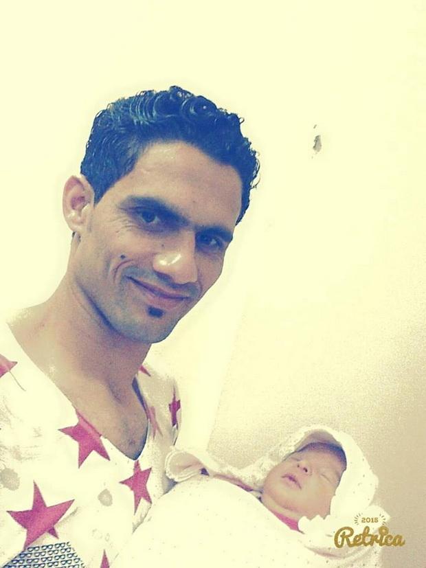 محمد نجيب يُرزق بمولودته الثالثه