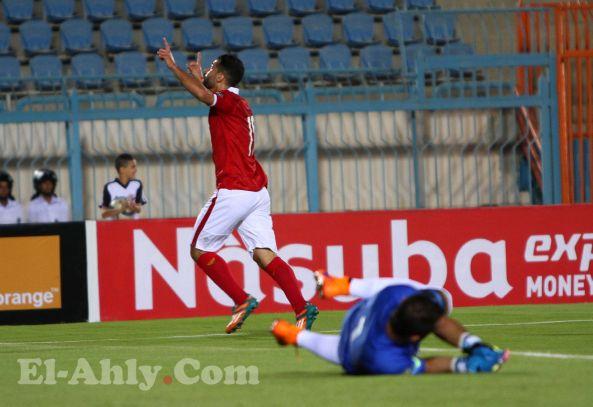 عبد الله السعيد يضع الأهلي في المقدمة امام الترجي التونسي