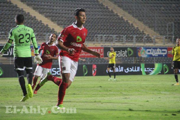 الغزال عمرو جمال يعود الي التهديف ويسجل في مرمي وادي دجلة