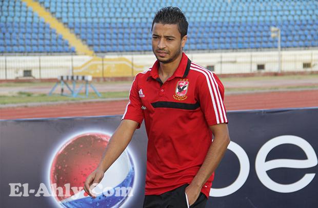 تأكد غياب باسم علي عن مباراة سموحة بالدوري