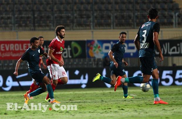 لقطة تلخص حال الكرة المصرية في مباراة الأهلي وانبي