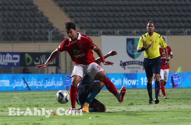 عمرو جمال يعود للتهديف بهدف عالمي في مرمي انبي