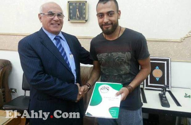 شهاب أحمد ينتقل للإنتاج الحربي
