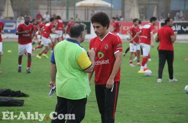 إصابة مارسيلو قبل مباراة الملعب والمستبعدين من مران الجزيرة للسويس