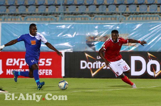 القائم يمنع إيفونا من تسجيل أول هدف له مع الأهلي في البطولات الإفريقية