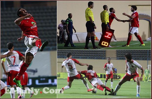 إحتفال الجوكر وهدف مباغت في صور فوز الأهلي على بتروجيت