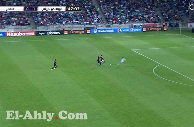 كاد أن يسجل فور نزوله.. شاهد فرصة هدف لإيفونا البديل أمام أورلاندو