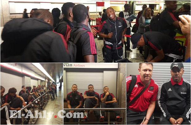 أورلاندو يغادر جنوب أفريقيا لمواجهة الأهلي بالكونفدرالية