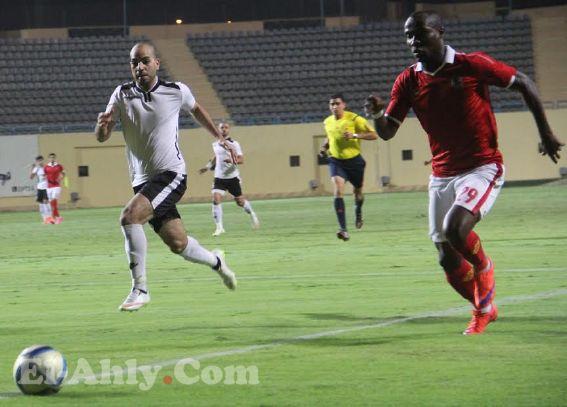 انطوي يضيع اول اهداف الأهلي امام غزل المحلة