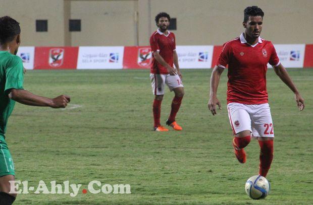 صالح جمعة: شعور مختلف تماماً أن تلعب للنادي الأهلي