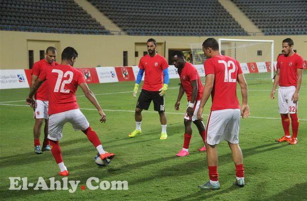 تأخير مباراة الأهلي ومصر المقاصة بسبب الأمطار