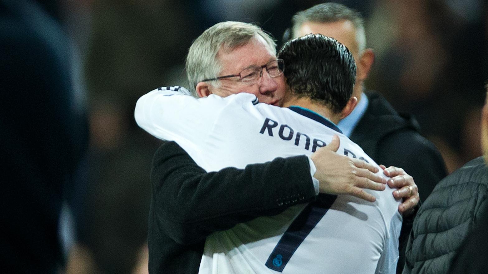 فيرجسون يساعد مانشستر يونايتد لاعادة رونالدو