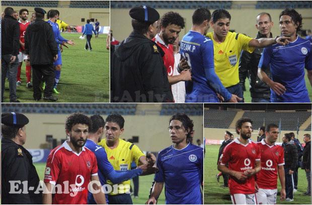 شاهد صور أزمة حسام غالي مع حسام باولو عقب مباراة سموحة