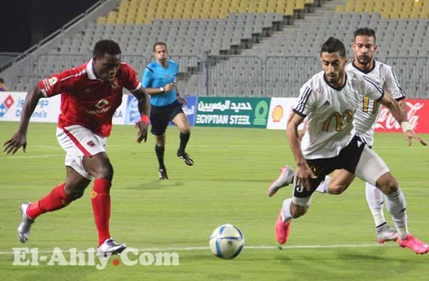 ايفونا يظهر ويسجل اول اهدافه مع الأهلي بالدوري العام