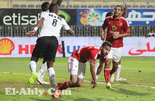 محمد هاني يهدي مؤمن زكريا هدف العادة ببرج العرب