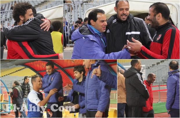عماد النحاس يتذكر أيام المجد مع لاعبي الأهلي قبل مباراة أسوان