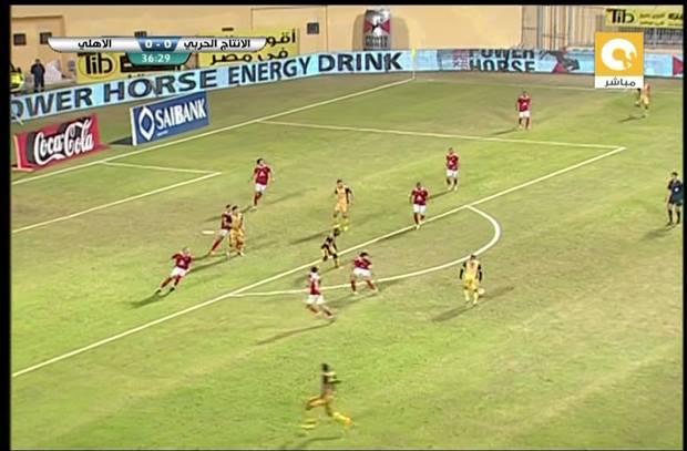 القائم يحرم شهاب من تسجيل الهدف الأول في مرمى الأهلي